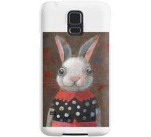 White Rabbit Girl Samsung Galaxy Case/Skin