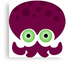 Splatoon - Octopus Logo Canvas Print