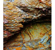 Geology Rocks. Panther Beach, Highway I, California Photographic Print