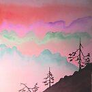 Misty Mountains by WienArtist