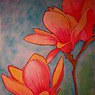 Magnolia in Bloom by WienArtist