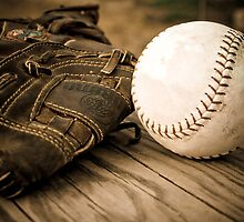 Baseball Glove by Jesse Simmers