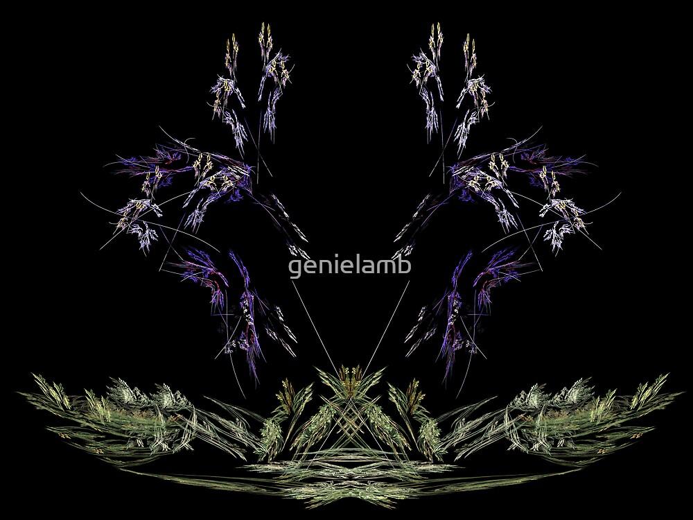 lavender grass by genielamb