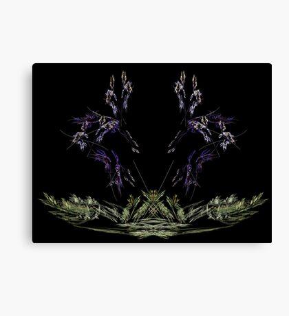 lavender grass Canvas Print