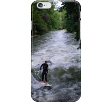 river surfer, Munich, Germany iPhone Case/Skin