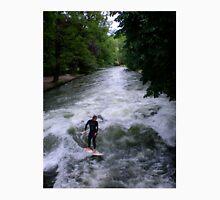 river surfer, Munich, Germany Unisex T-Shirt