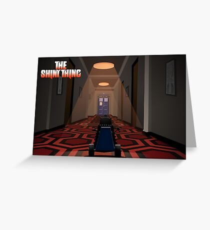 The Shiny Thing 2 Greeting Card