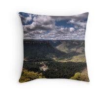 Wolgan Valley - HDR Panorama Throw Pillow