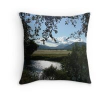 View across the River Tay Throw Pillow