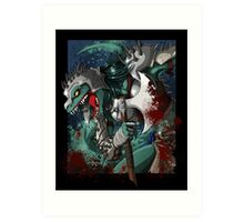 Chalice Dragonhide Art Print