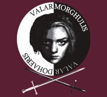 Valar Morghulis, Valar Dohaeris - Arya and Needle by Mette98