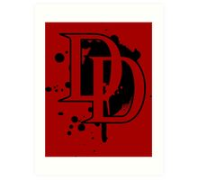 Marvel Daredevil Netflix 2015 shirt and more Art Print