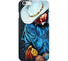Chisholm...Portrait Of A Cowboy iPhone Case/Skin