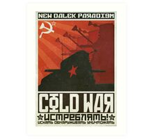 Cold Time War Art Print