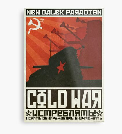 Cold Time War Metal Print