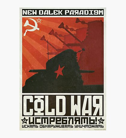 Cold Time War Photographic Print