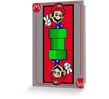 Plumber card Greeting Card