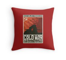 Cold Time War Throw Pillow