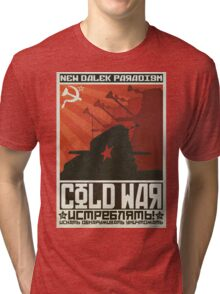 Cold Time War Tri-blend T-Shirt