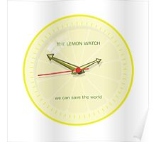 THE LEMON WATCH Save Yellow Poster