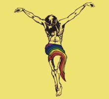 Gay Christ Wairing Rainbow LGBT Loincloth Kids Clothes