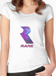 RARE Women's Fitted Scoop T-Shirt