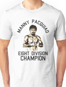 eight division champion Unisex T-Shirt