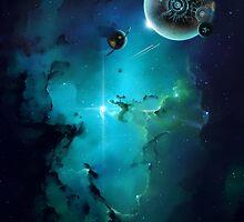 Cybertron nebulae by koroa