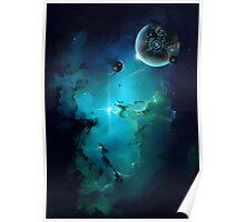 Cybertron nebulae Poster