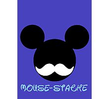 mouse-stache Photographic Print