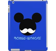 mouse-stache iPad Case/Skin