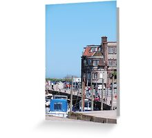 Blakeney Harbour Greeting Card