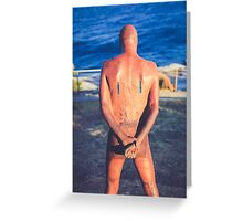 SCULPTURES BY THE SEA BONDI BEACH #4 Greeting Card