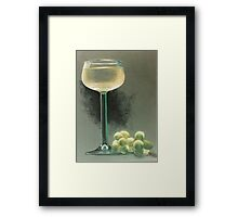 A Touch of Glass Framed Print