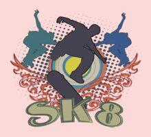 Skateboard T-Shirts by valizi