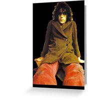Pink Floyd Syd Barrett T-Shirt Greeting Card