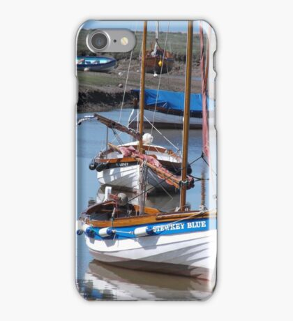 Boats in the Harbour iPhone Case/Skin
