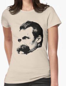 Friedrich Nietzsche Womens Fitted T-Shirt