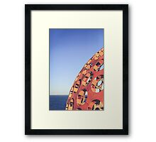 SCULPTURES BY THE SEA BONDI BEACH #7 Framed Print