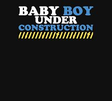 Baby Boy Under Construction Womens Fitted T-Shirt