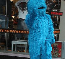 COOKIE MONSTER HITS BROADWAY by deegarra
