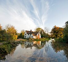 Willy Lotts Cottage by Nigel Bangert