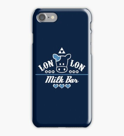 LonLon Milk Bar iPhone Case/Skin
