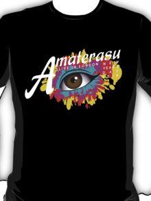 Amaterasu (white text) T-Shirt