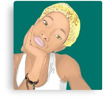 Willow Smith Canvas Print