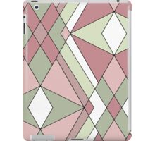 Seamless abstract pattern retro colors iPad Case/Skin