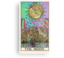Psychadelic Tarot- The moon Metal Print
