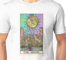 Psychadelic Tarot- The moon Unisex T-Shirt
