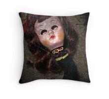 Annabelle #4 Throw Pillow