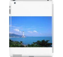 Buddha statue, Hainan Island, China iPad Case/Skin